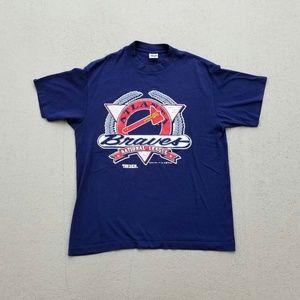 1992 vintage ATL Braves graphic tshirt!
